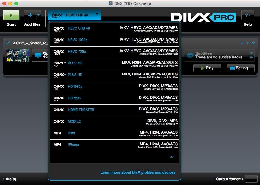 DivX Pro 10.6.2 Multilangual MacOSX多语言中文注册版