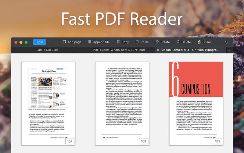 PDF Expert 2.0.0 MacOSX注册版