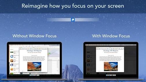 Window Focus 1.0.1 MacOSX