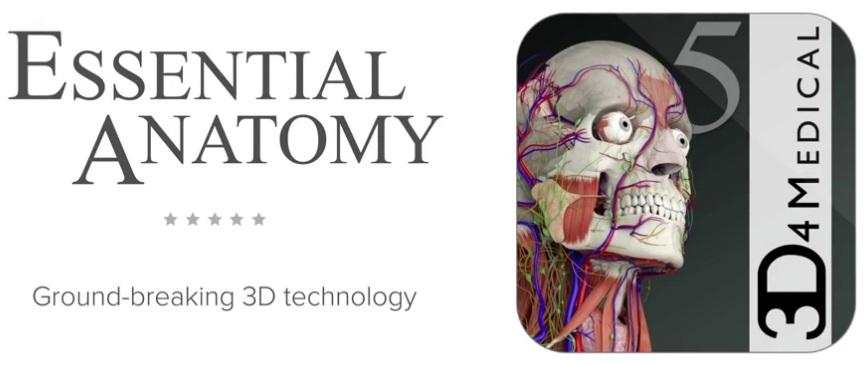 Essential Anatomy 5 5.0注册版-3D解剖学习工具