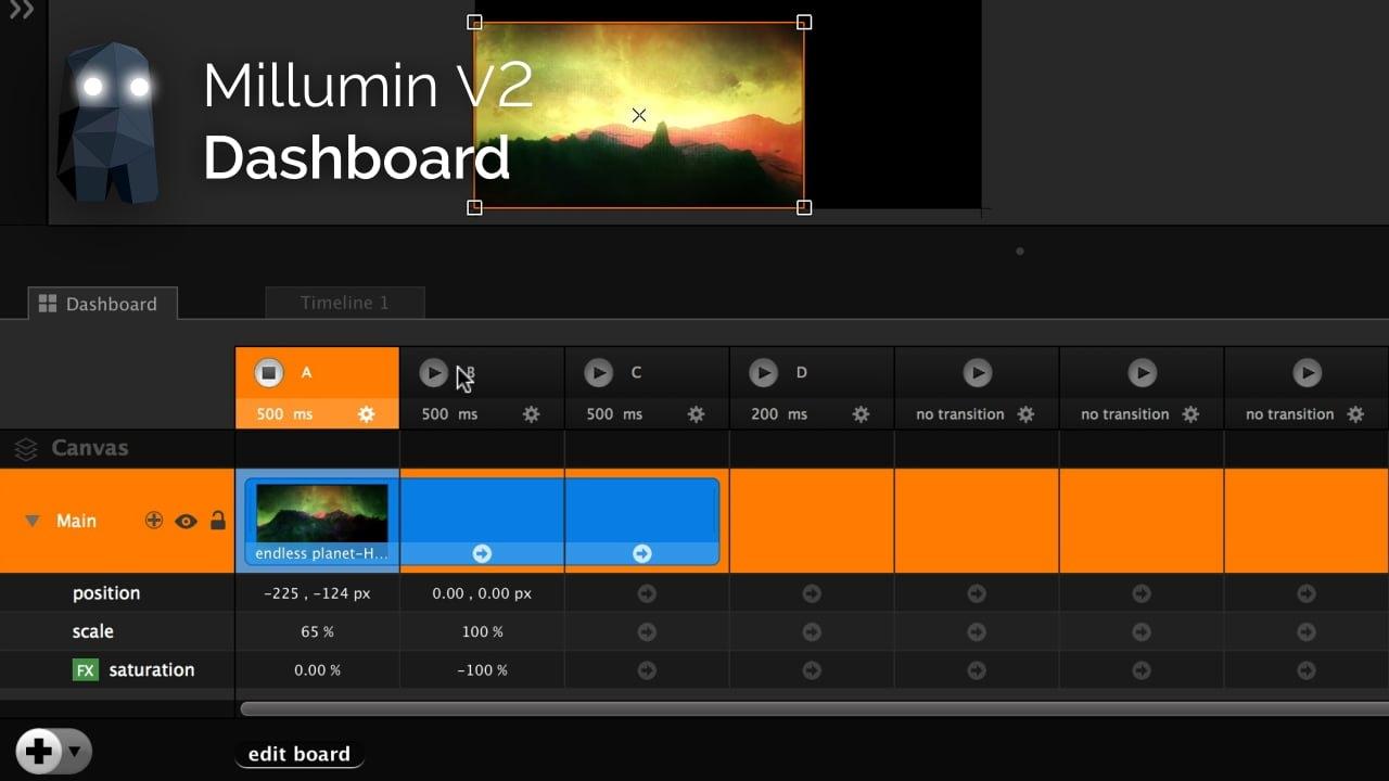 Millumin 2.16f MacOSX 注册版-视频剪辑与渲染