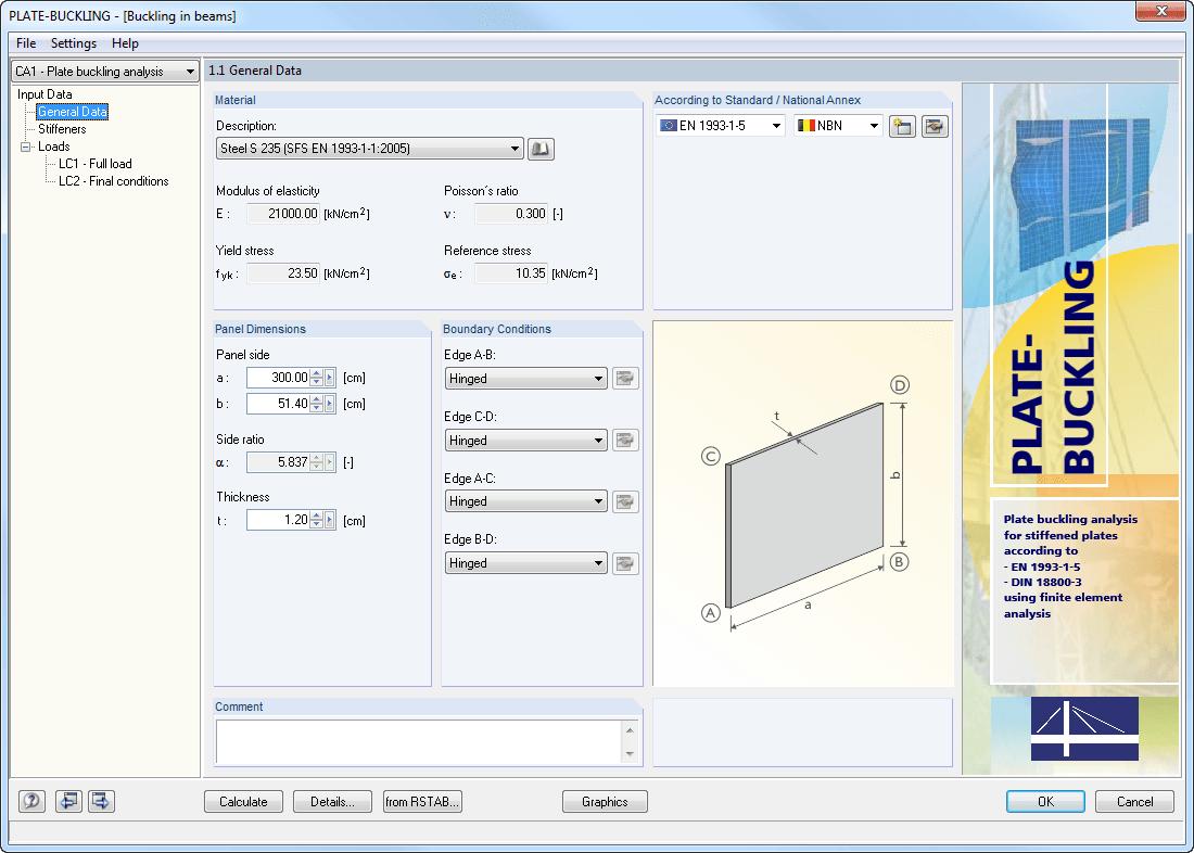 DLUBAL PLATE-BUCKLING 8.06.1103注册版-结构分析与设计