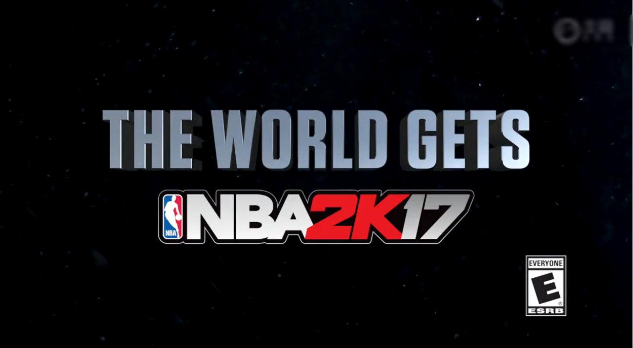 免费序章公布 《NBA 2K17》9月9日起可下载玩了