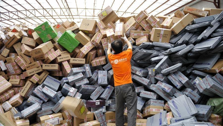 中国快递包装物回收率不足20%-其中部分有害物超标