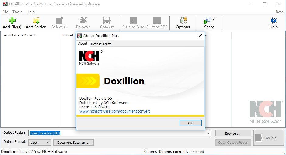 Doxillion Document Converter Plus 2.55注册版-文件转换工具