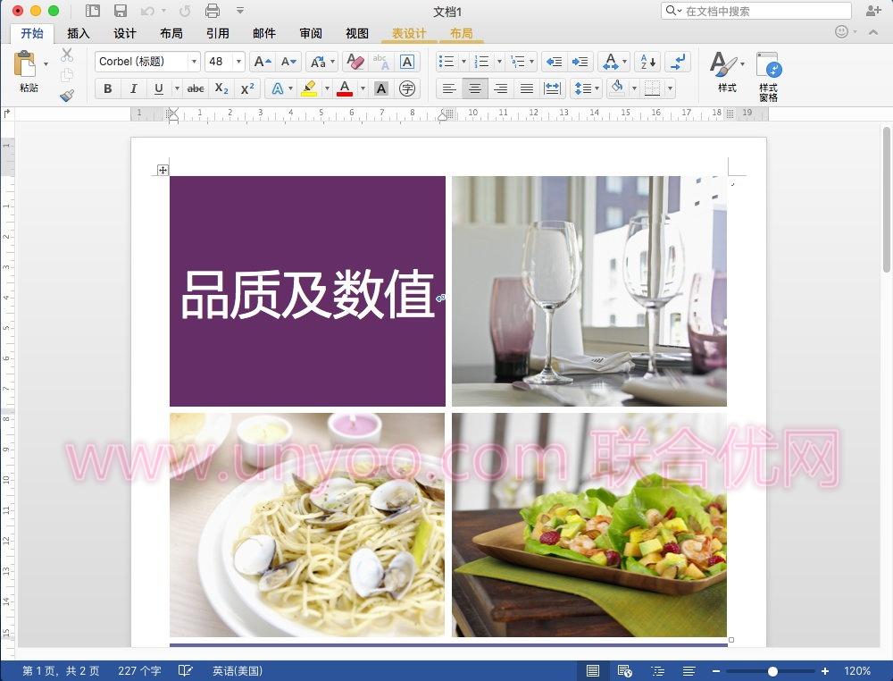 Microsoft Word 2016 for Mac 15.34 VL 多语言中文企业授权版
