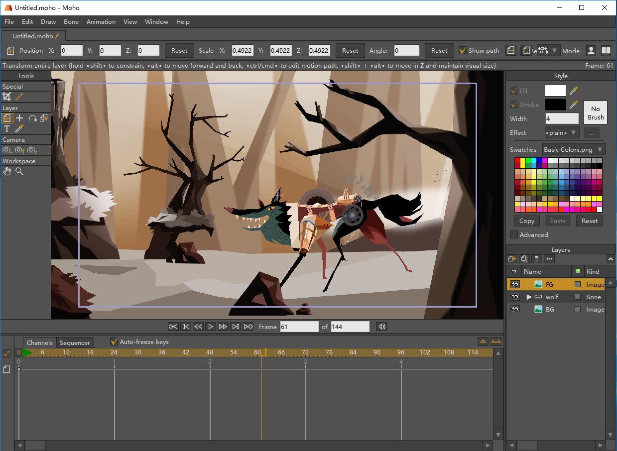 Smith Micro Moho Pro v12.0.0.20763 x64注册版-动画制作