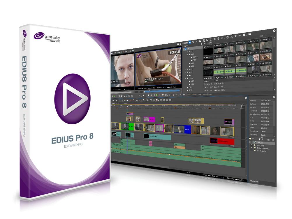EDIUS 8.30 build 320多语言中文注册版-视频编辑