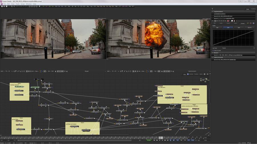 Blackmagic Design Fusion Studio 8.2 MacOSX注册版-高端视觉特效合成