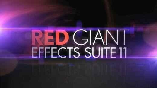Red Giant Effects Suite 11.1.10 Win/Mac注册版-红巨星超级特效插件套装