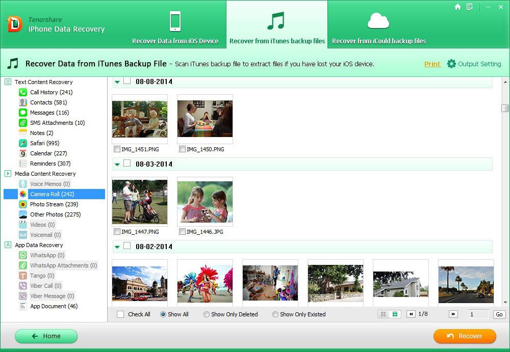 Tenorshare iPhone Data Recovery 7.0.0.2注册版附注册机-iPhone数据恢复