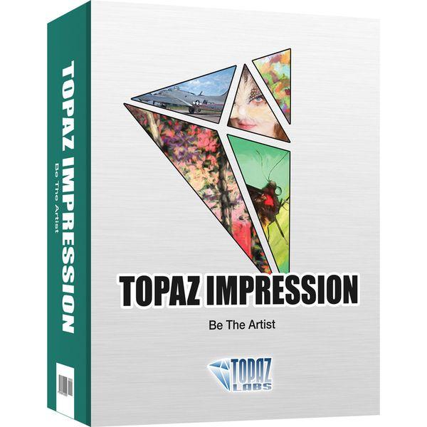Topaz Impression 2.0.4注册版附注册码-手绘滤镜
