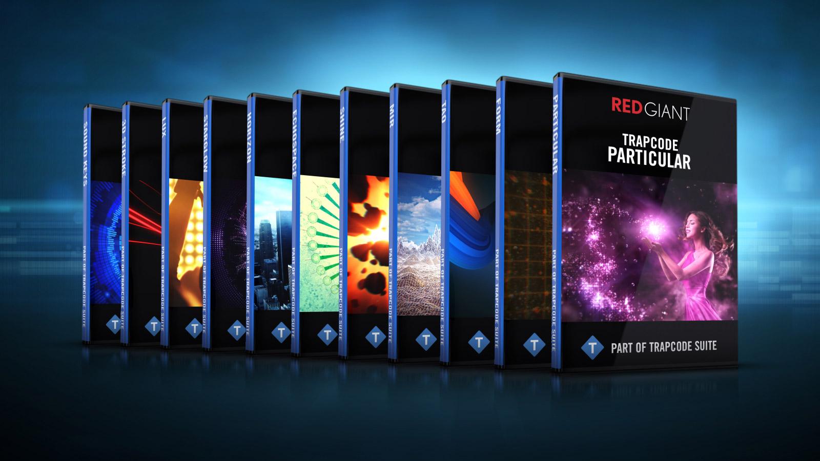 Red Giant Trapcode Suite 13.1.1 Win/Mac注册版-红巨星特效插件套装