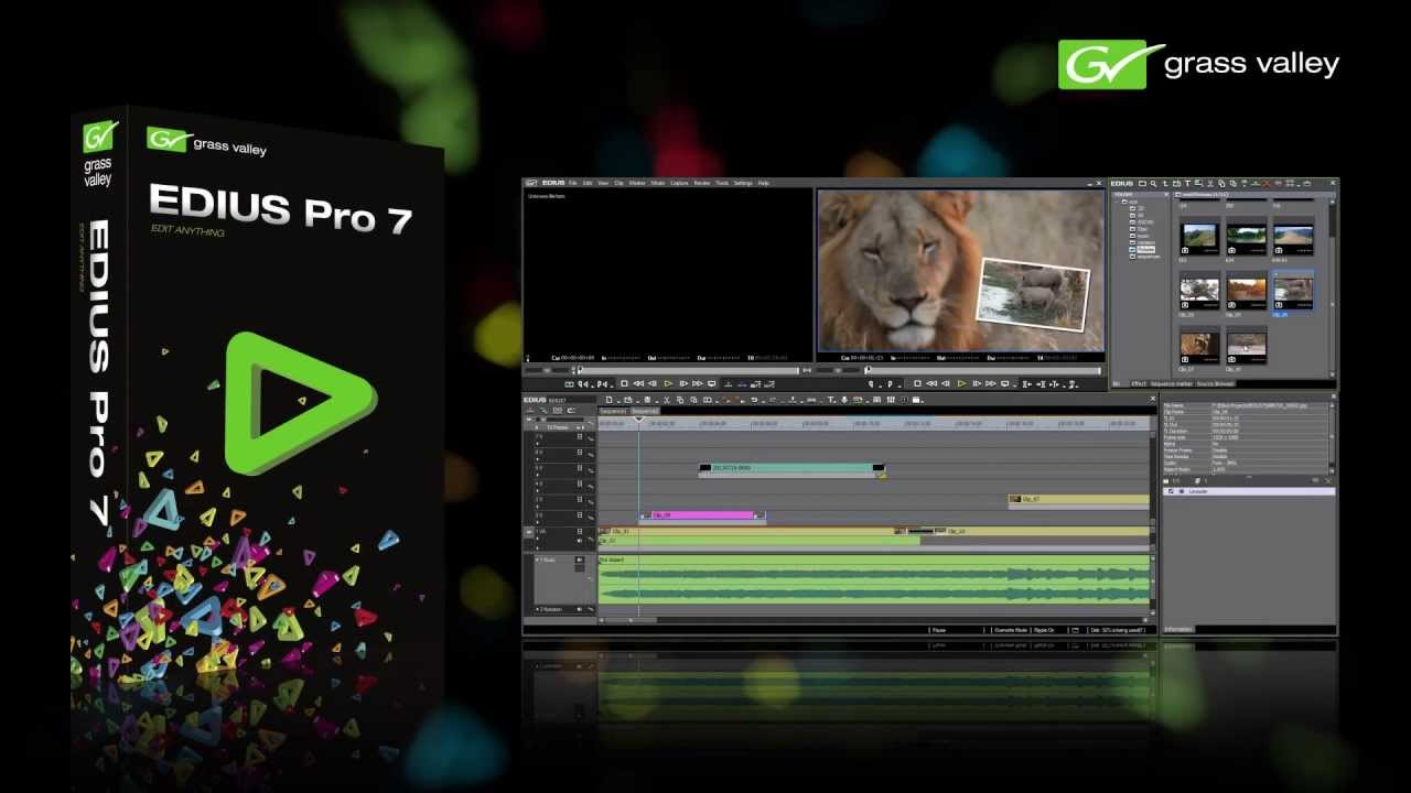 EDIUS Pro 7.53 Build 010 (x64)正式版 -非线性编辑软件
