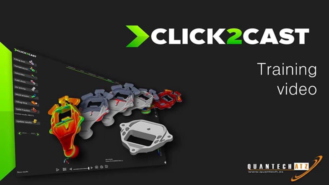 SolidThinking Click2Cast v4.0.1.100 x64注册版-铸造工艺模拟软件