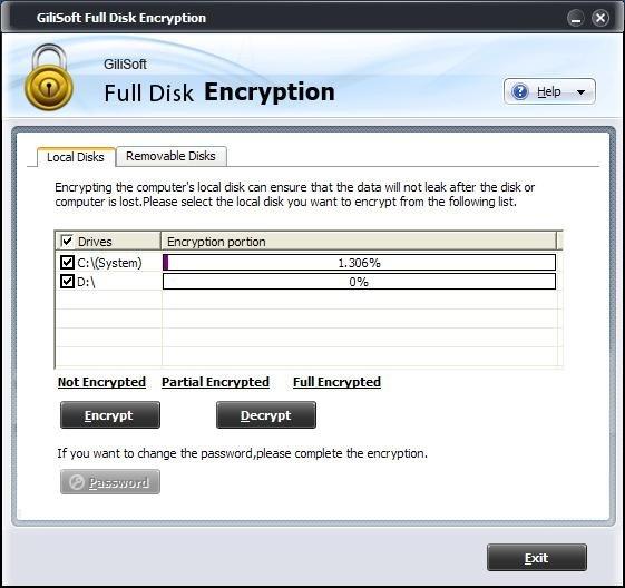 Gilisoft Full Disk Encryption 4.0多语言注册版-硬盘加密工具