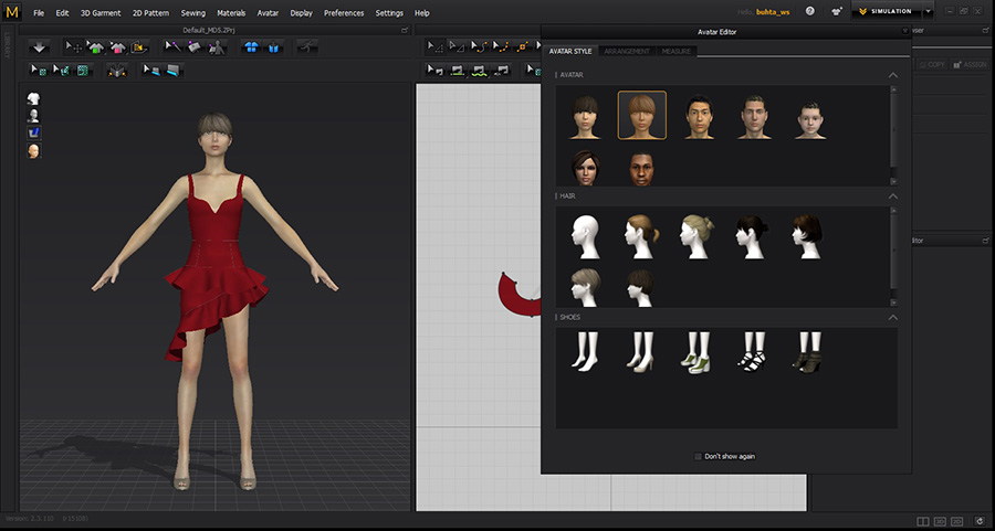 Marvelous Designer 5.5 Enterprise 2.4.58.18912 Win/Mac-三维服装设计企业注册版