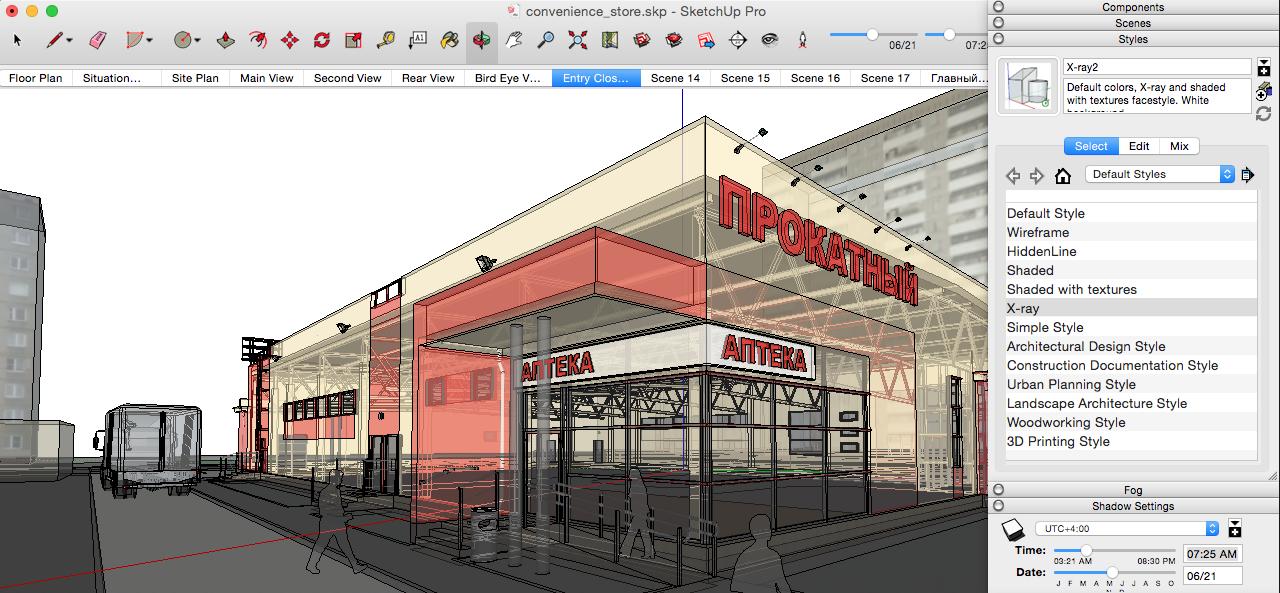 SketchUp Pro 2018 v18.0.16975 for Mac 多语言注册版 - 建筑草图设计软件