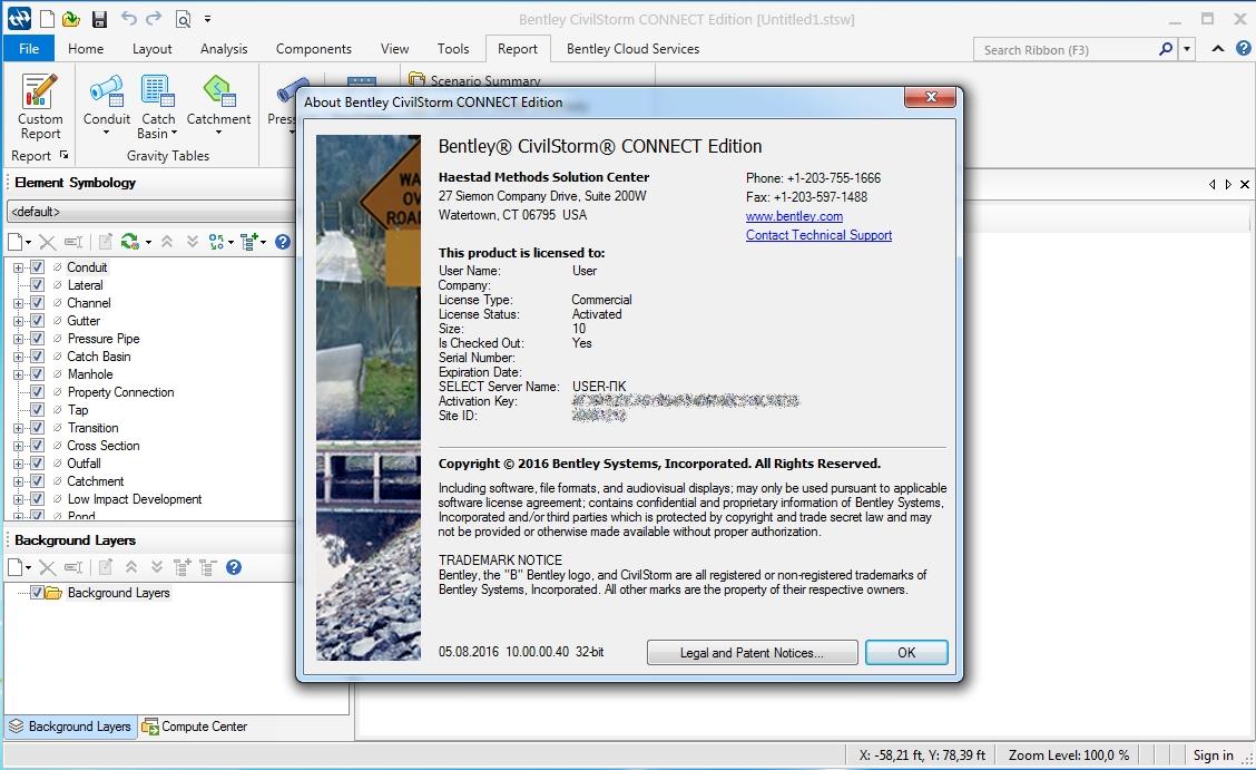 CivilStorm CONNECT Edition 10.00.00.40 x86/x64 注册版-综合雨水系统建模和分析软件