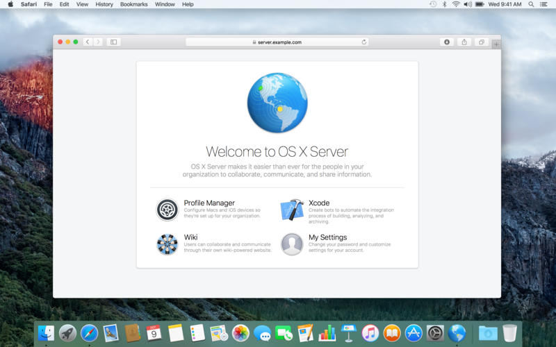 Apple macOS Server v5.2 Final MacOSX 多语言注册版-Mac服务器软件