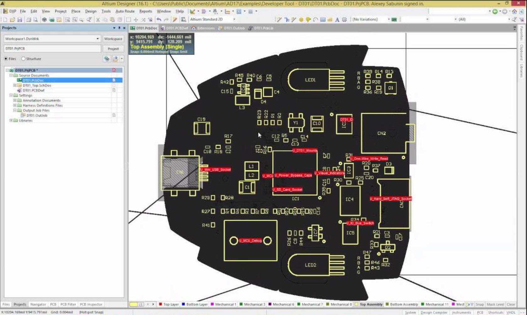 Altium Designer 16.1.12多语言中文注册版-PCB设计