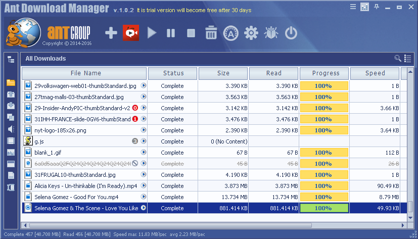 Ant Download Manager 1.1.0 多语言免费正式版-下载工具