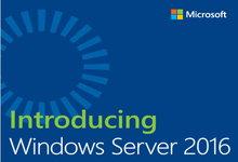 微软发布免费电子书之《介绍Windows Server 2016》-联合优网