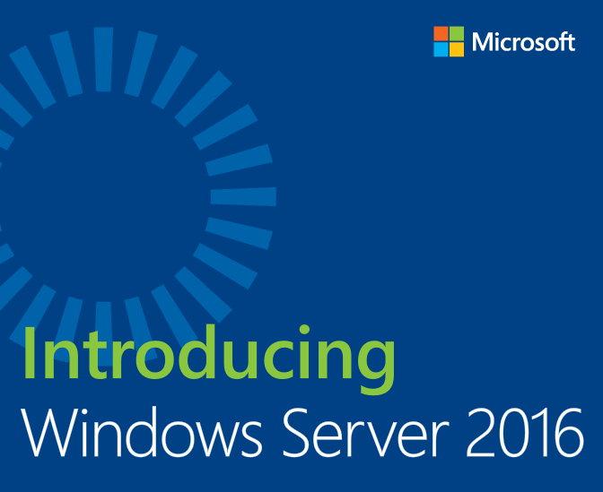 微软发布免费电子书之《介绍Windows Server 2016》