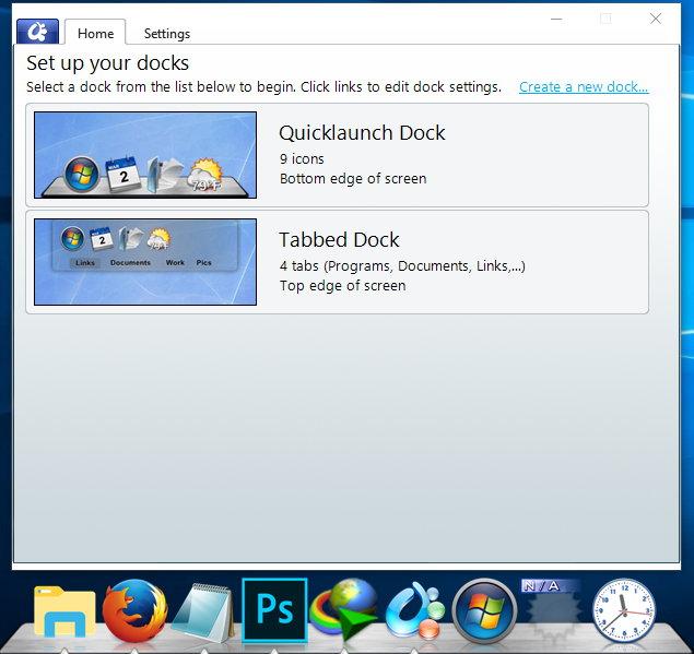 Stardock ObjectDock 2.20.0.862 Free/Plus 2.01.743 注册版- 模拟Mac Dock的软件