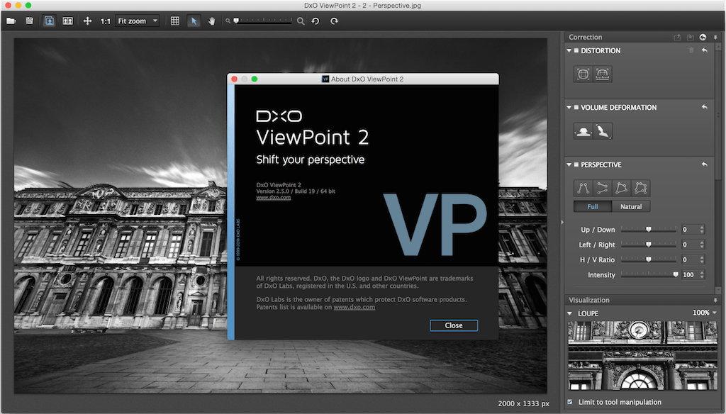 DxO ViewPoint 2.5.17 MacOsX 多语言注册版-照片比例校正软件