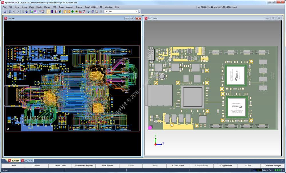 Xpedition Enterprise VX.2 Win/Linux 注册版 - PCB电子设计与仿真全流程解决方案