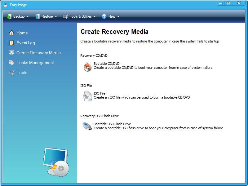 Eazy Image 6.0 多语言中文注册版附注册机 - 硬盘备份工具
