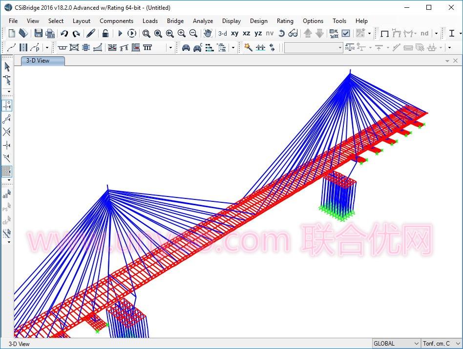 CSI Bridge 2016 v18.2.0 x86/x64 注册版附注册机-桥梁结构设计