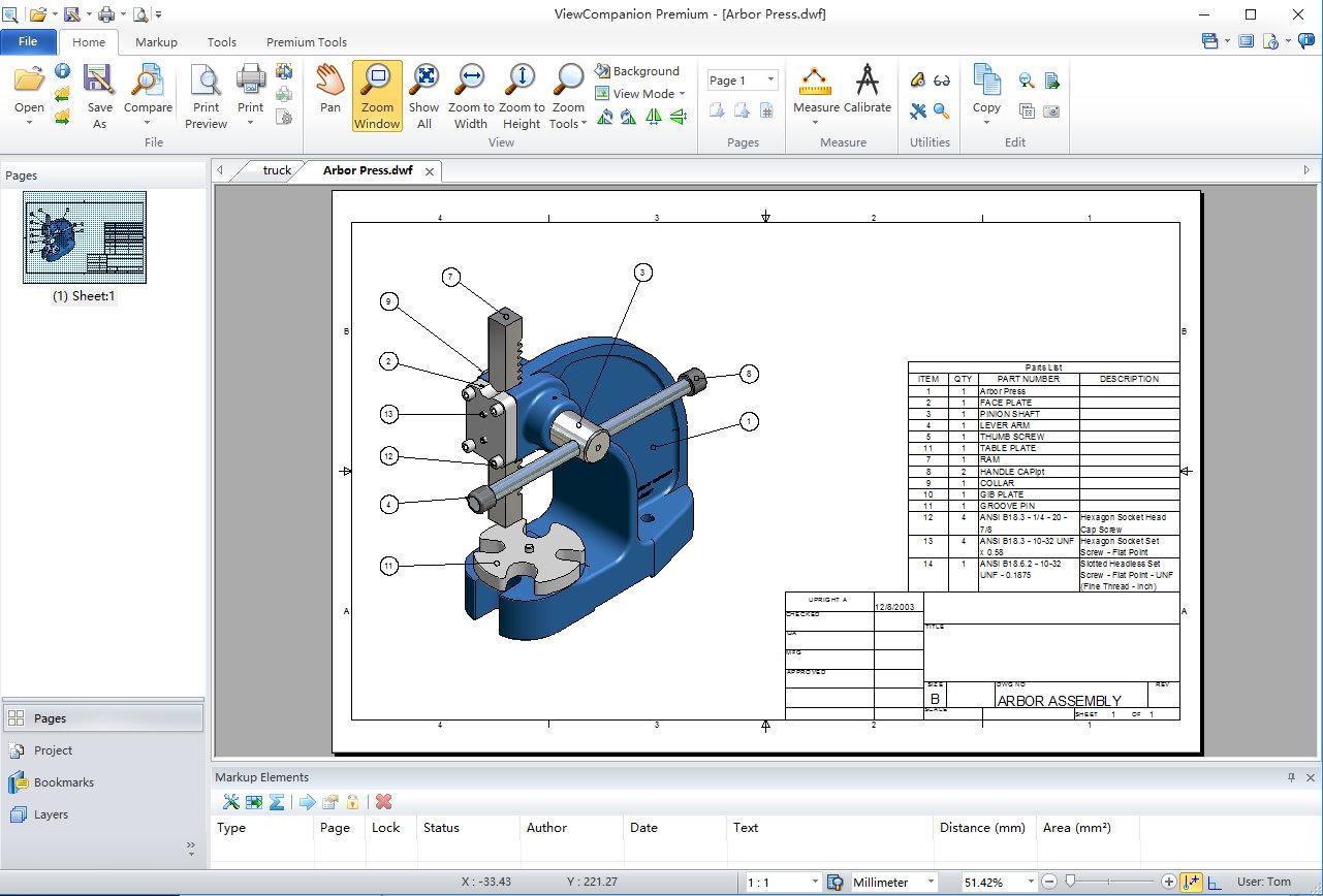 ViewCompanion Premium 10.41 x86/x64注册版附注册机-图纸浏览与打印工具