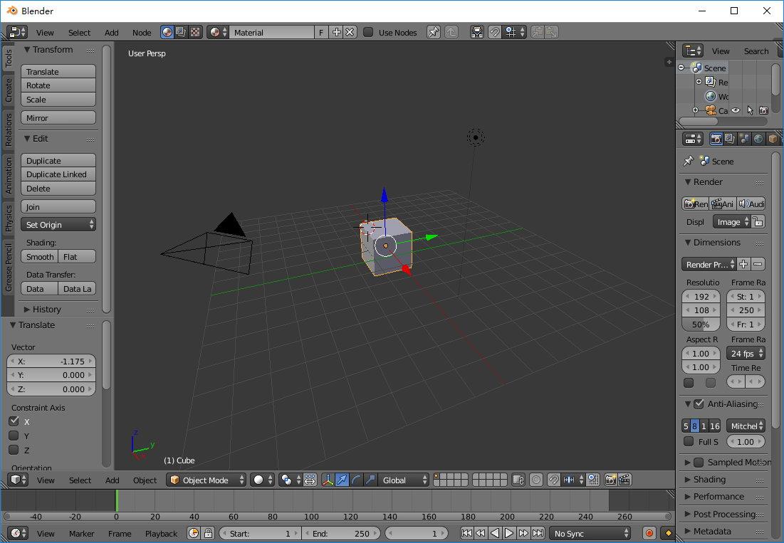 Blender 2.78 Final x86/x64 Win/Mac/Linux 多语言中文正式版-3D建模渲染软件