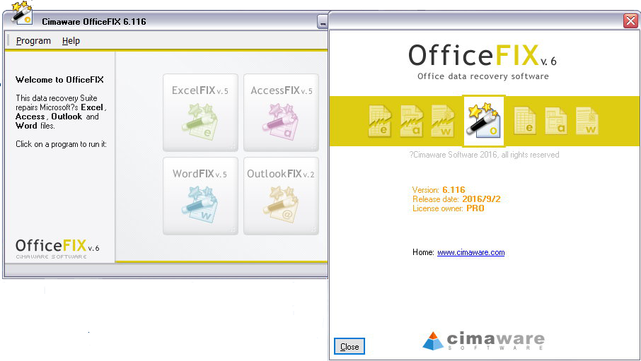 OfficeFIX Platinum Professional 6.117 注册版-Office文件修复
