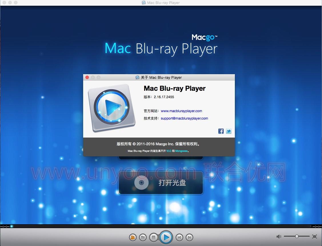 Macgo Mac Blu-ray Player 3.3.19 MacOSX 多语言中文注册版