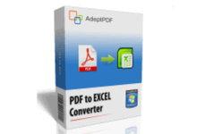 Adept PDF to Excel Converter 3.60 注册版-PDF转Excel软件-联合优网