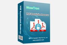 WowTron PDF Restriction Remover 1.1.1 注册版附注册码-PDF编辑打印限制去除-联合优网