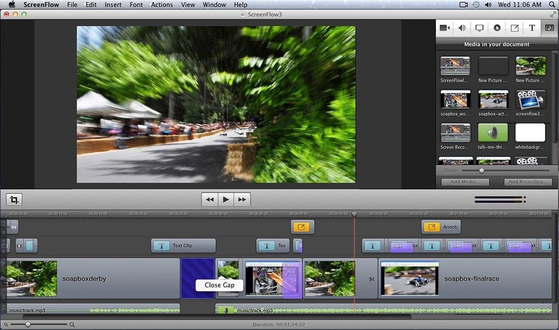 ScreenFlow v7.1.1 for MacOS 多语言注册版-屏幕录制与视频编辑