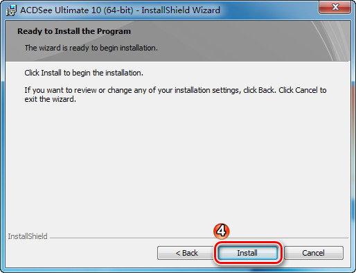 ACDSee Ultimate 10 详细安装与注册机(KeyGen)离线激活图文教程