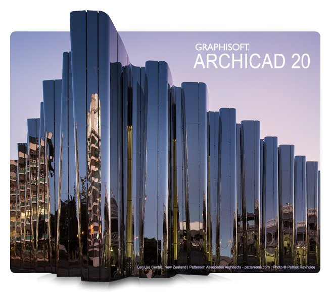 ArchiCAD 20 Build 4009 x64 多语言注册版 - 3D建筑模型与CAD图纸绘制