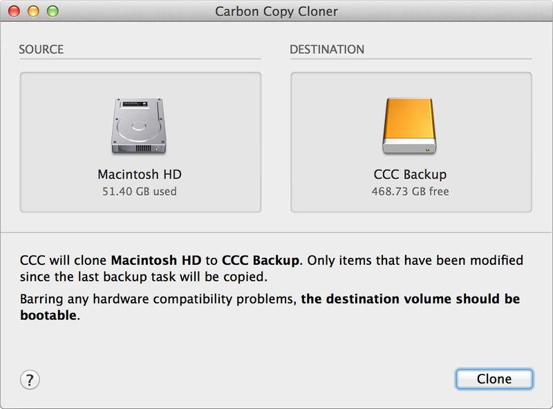 Carbon Copy Cloner 4.1.10.4425 多语言注册版- Mac硬盘克隆/同步/备份工具