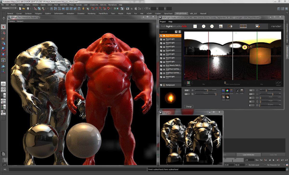 HDR Light Studio 5.3.5 注册版-3D渲染软件