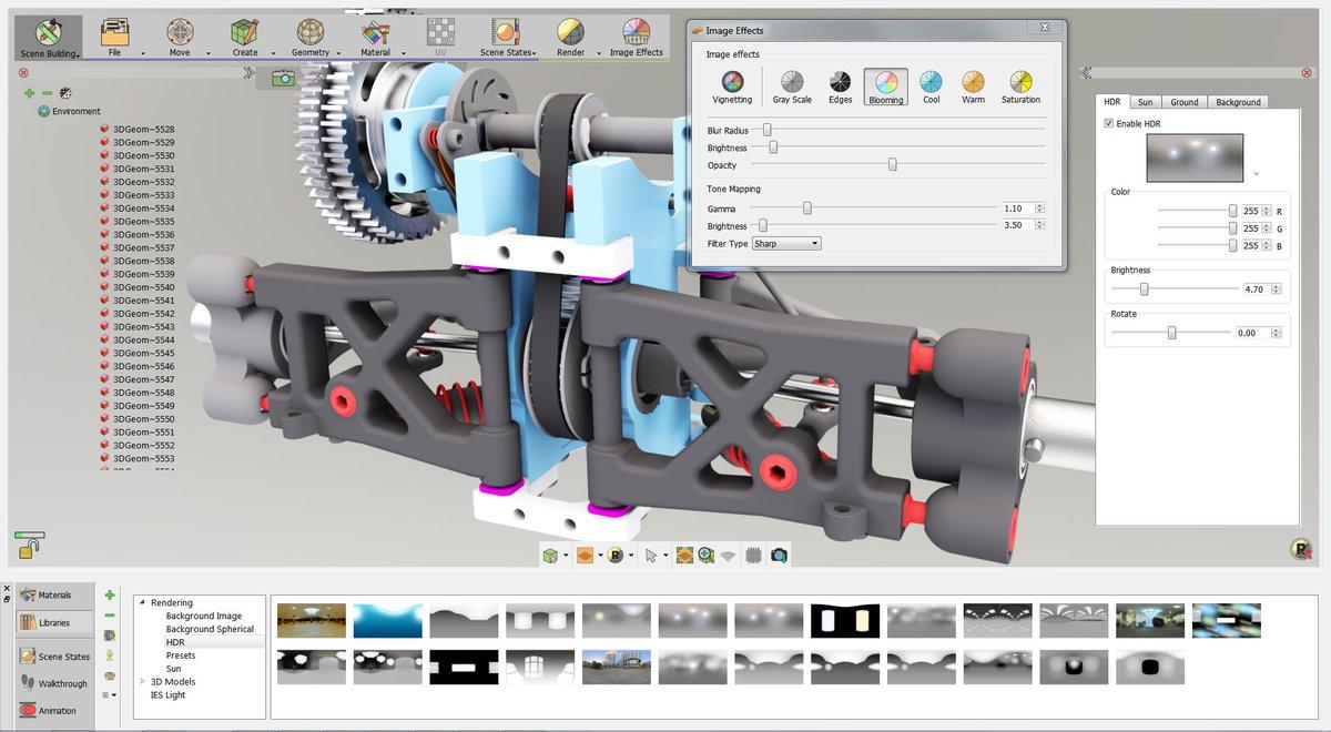 SimLab Composer v7.2.0 x64 多语言注册版-3D场景创作软件