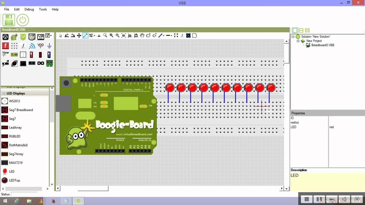 VirtualBreadboard (VBB) 5.5.5.0 多语言正式版-Arduino仿真模拟器