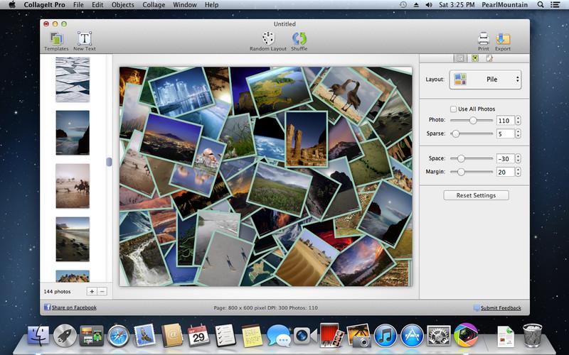 CollageIt 3 Pro v3.6.0 MacOSX 多语言注册版