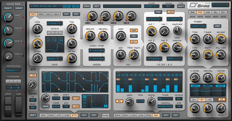 Reveal Sound Spire v1.1.9 注册版附注册机-专业音频合成器