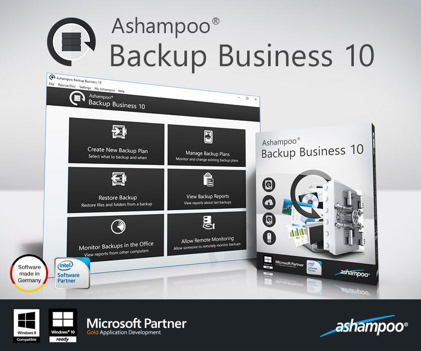 Ashampoo Backup Pro+ Business 10.01 от 21.09.2016多语言中文注册版-PC和Server备份工具