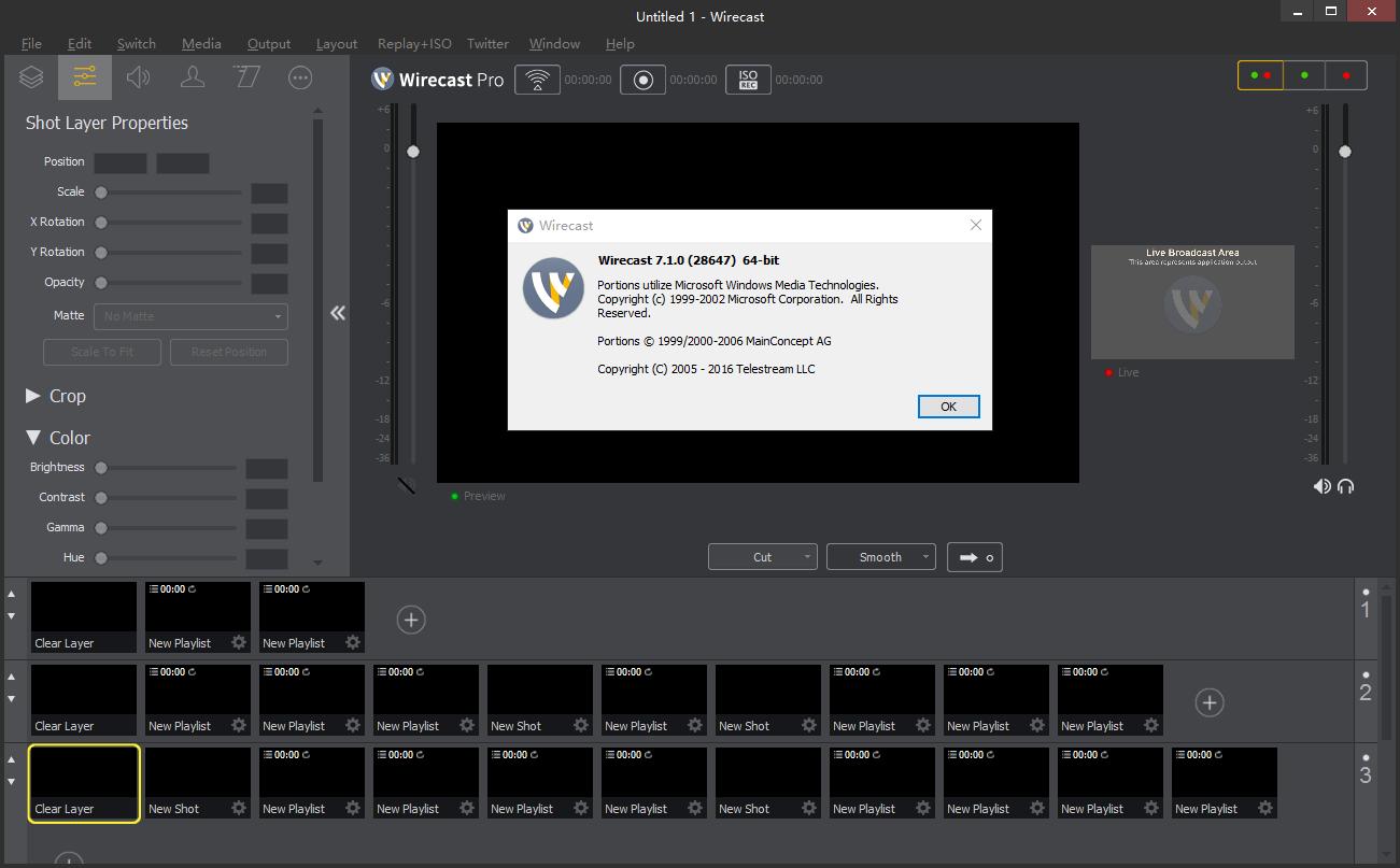 Telestream Wirecast Pro 7.1 x64 多语言注册版-网上直播视频采集和制作